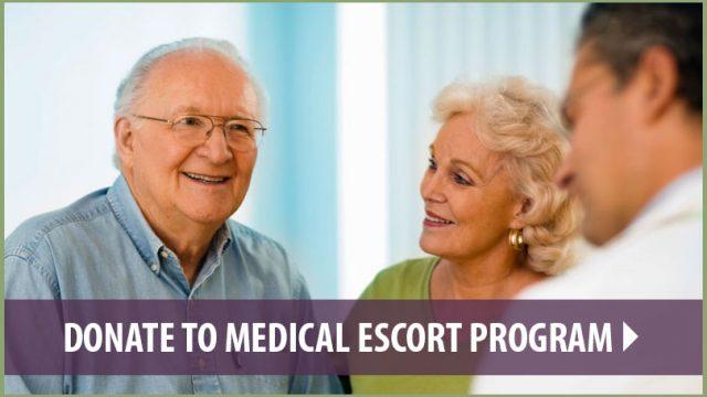 Donate to Medical Escort Program