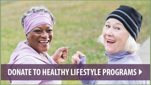 Donate to Healthy Lifestyle Programs